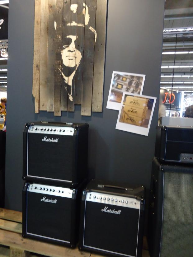 Marshall SL-5 Slash combo - musikmesse 2013