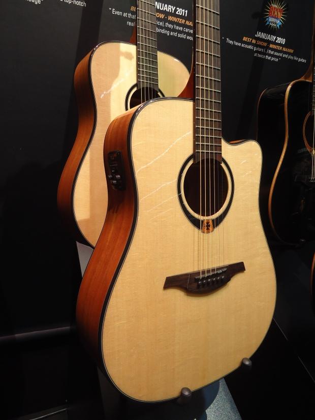 LAG Guitars: Tramontane 80 - Musikmesse 2013