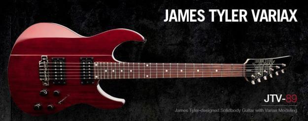 Line 6: James Tyler Variax JTV-89F – porządna gitara do ciężkiego grania