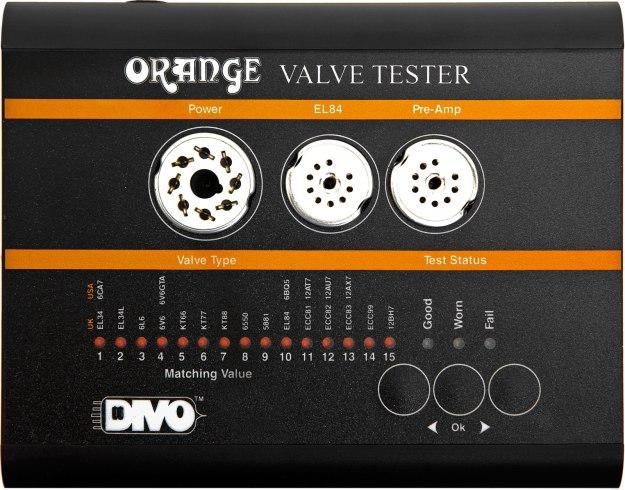 Orange: Valve Tester VT1000 – automatyczny tester lamp łatwy w użyciu