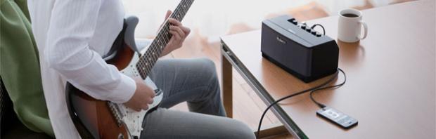 Roland: Cube Jam – aplikacja na iPhone'a i iPada (iOS) do ćwiczeń gitarowych