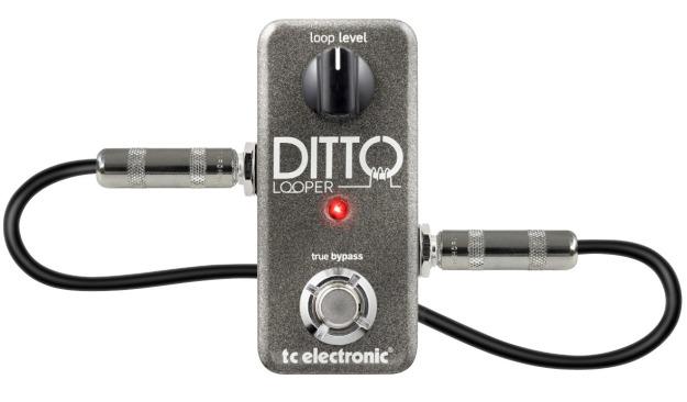 TC Electronic: Ditto Looper – mały i prosty looper gitarowy