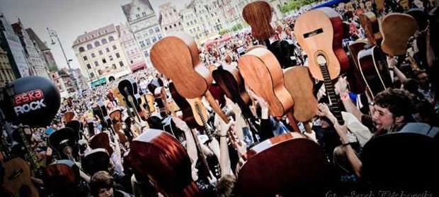Wroclaw rekord guinnessa 2013 Hej Joe 2