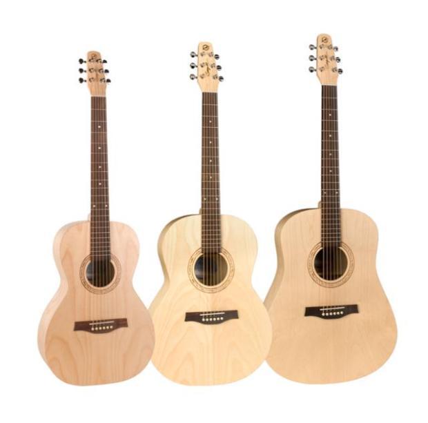 Seagull Guitars: Excursion Series - nowa seria tanich gitar akustycznych Seagull