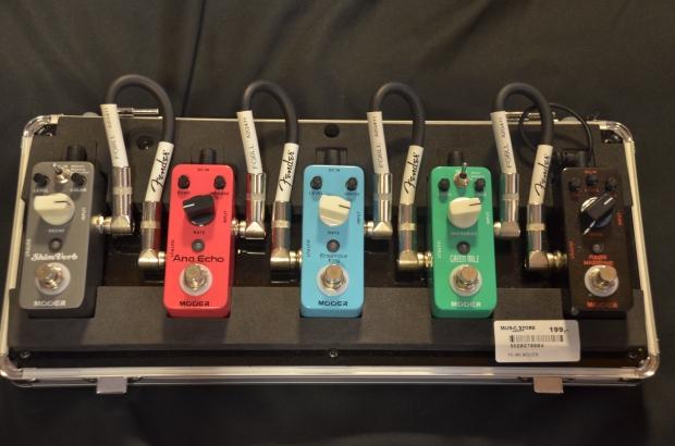 Mooer Pedals: Micro Series - malutkie efekty podłogowe o niezłym brzmieniu i dobrej cenie