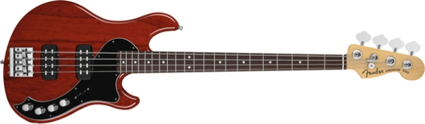 Fender American Deluxe Dimension Bass IV HH Violin Burst