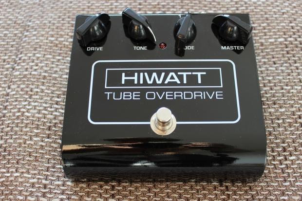 HIWATT Tube Overdrive - lampowy przester w kostce
