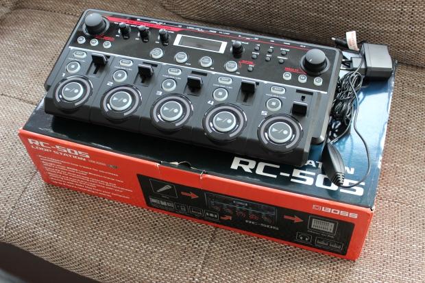 BOSS RC-505 Loop Station - TEST – ręczny looper 5-ścieżkowy, do beatboxu, wokalu, gitary i innych