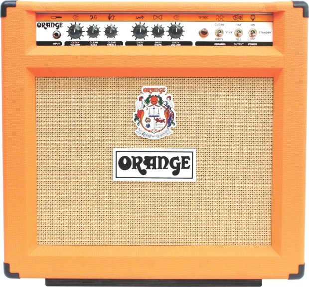 Orange TH30 Combo - lampowe combo 30W, idealne do rocka