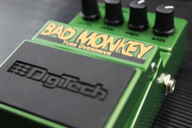 DigiTech Bad Monkey - dobry i tani przester gitarowy w stylu Tube Screamer'a