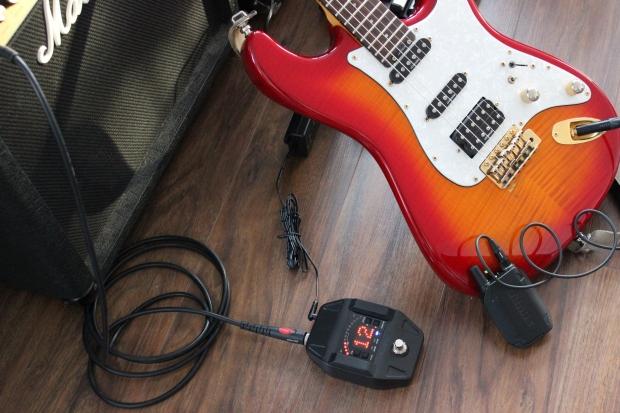 Shure GLXD16 - cyfrowy system bezprzewodowy do gitary - TEST ZASIĘGU