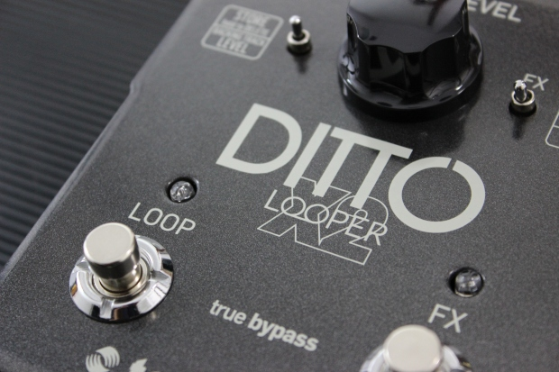 TC Electronic Ditto X2 Looper - prosty, 1-ścieżkowy looper stereo, do 5 min nagrania