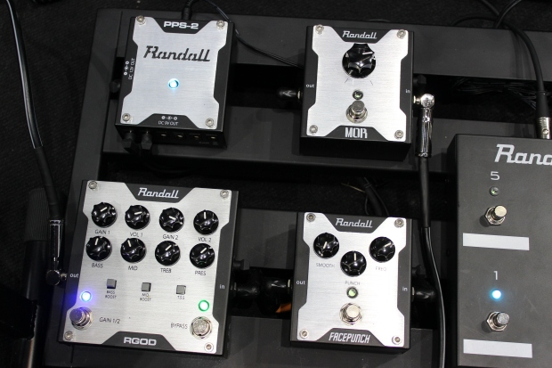 Randall new effects Musikmesse 2014