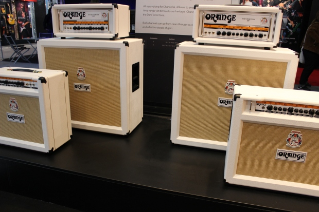 Orange white amps