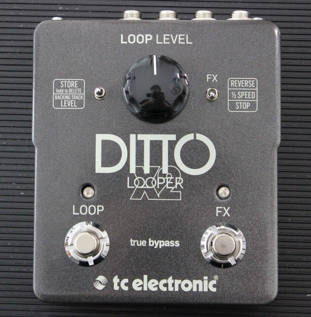 TC Electronic Ditto X2 Looper - TEST - dobrze brzmiący i łatwy w użyciu looper stereo z efektami