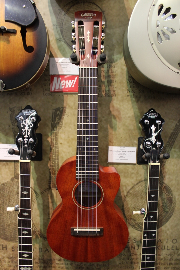 Gretsch - 5 modeli nowych ukulele [Musikmesse 2014]