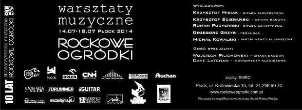 rockowe ogródki - Płock 2014