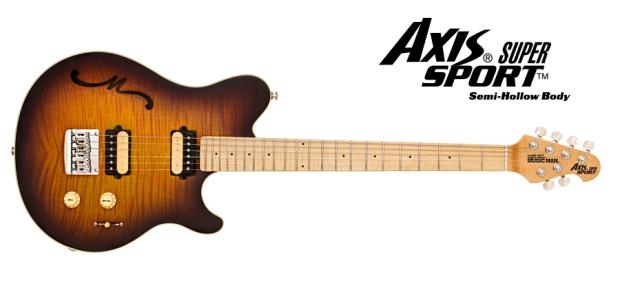 Musicman axis super sport semi hollow body nowe modele music mana