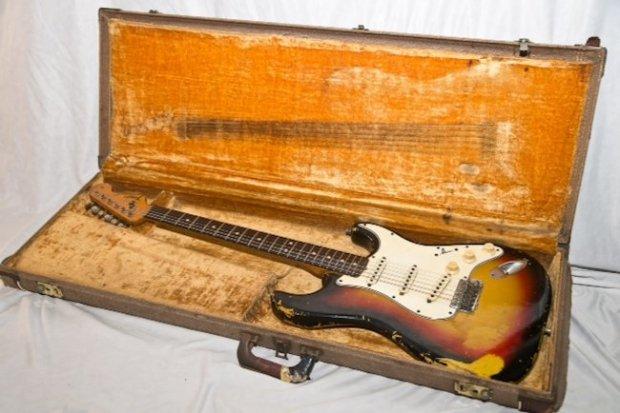 jimi hendrix fender stratocaster 1964